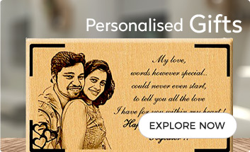 Personalise wooden gifts