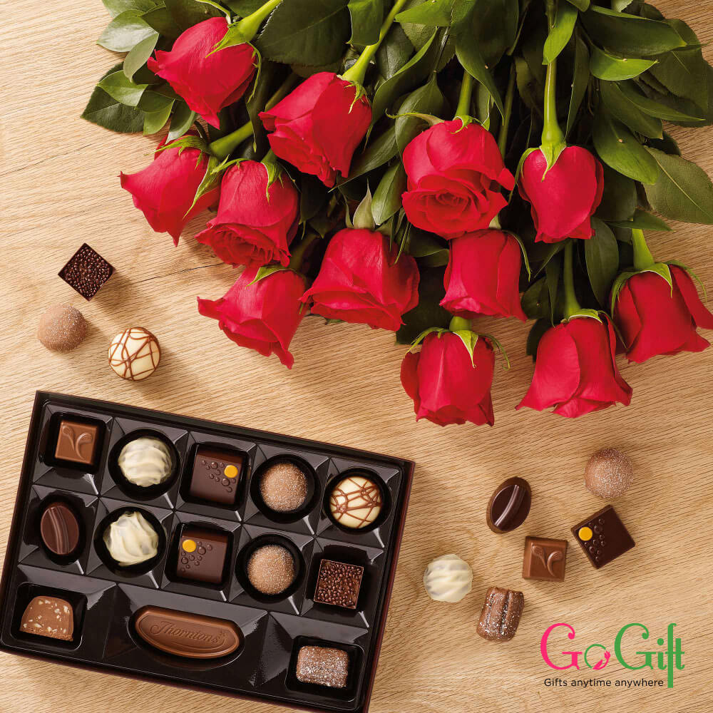 Flowers and Chocolate