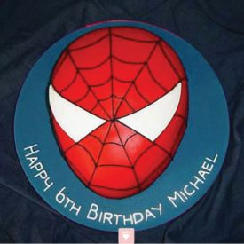 Rocking Spiderman Cake