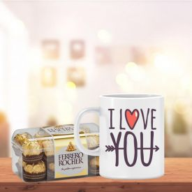 Ferrero Rocher with Mug
