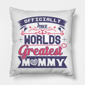 Non Personalised Cushion - Officially the Best Mum