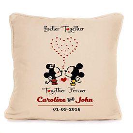 Mickey & Minnie Mouse Cushion