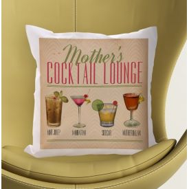 Personalised Cushion - Mother's Cocktail Lounge
