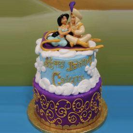 Alladin and Jasmine Cake