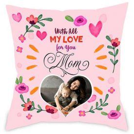 Love you Mummy Photo Upload Personalised Cushion