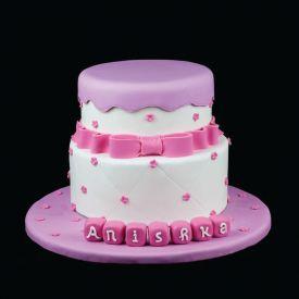 2KG Baby girl shoe cake