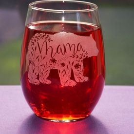 Personalized Engraved Glass