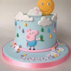 3 Kg Peppa Pig cake