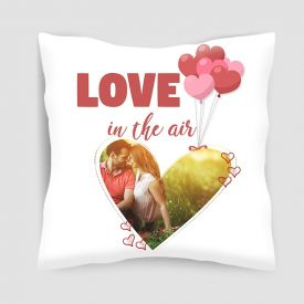 Personalized Love Heart Cushion