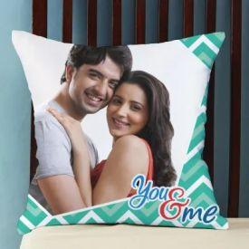 Printed You N Me Cushion