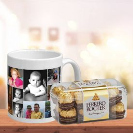 Personalized Mug N Ferrero Rocher