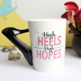 High Heels Handle Mug