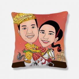 Personalized Couple Cushion