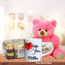 Mug, Teddy with Ferrero Rocher