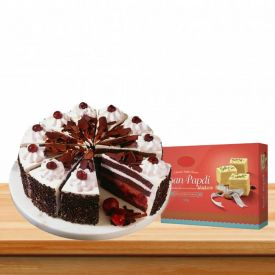 Black Forest With Soan papdi