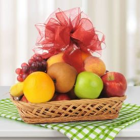 Fresh Fruits with Basket