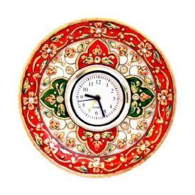 Round Clock (Marble)