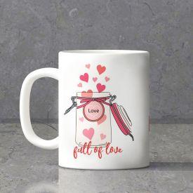 Full Of Love Personalized Mug