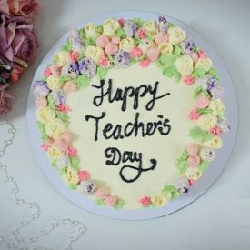 Teachers Day Pineapple Cake