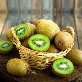 Kiwi with Basket