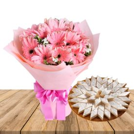 Flowers, Dry Fruits and Crackers