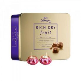 Rich Dry Fruits With Diyas