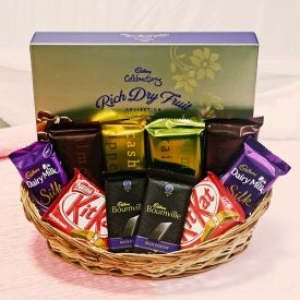 Mixed Basket of Chocolates