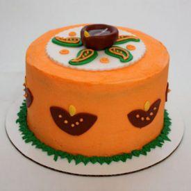 Vivid Diwali Cake