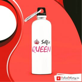 Selfie Queen Sipper Bottle