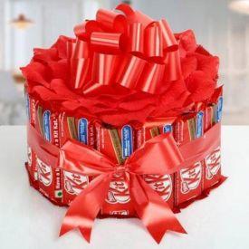 Bouquet Of Kit-Kat Chocolates