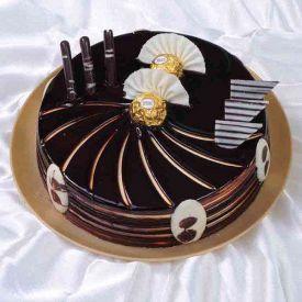Truffle Rocher Cake
