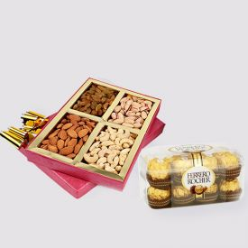Dry Fruits N Ferrero Rocher