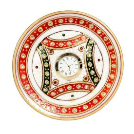Round Marble Watch