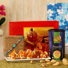 Karachi Halwa with Pistachio in a Gift Box