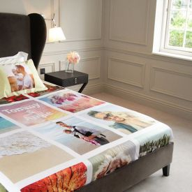 Customised Photo Bedsheet For Actress