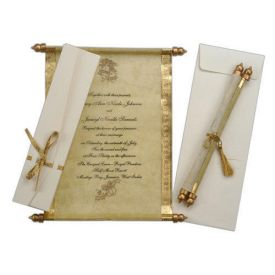 Couple personalized scroll