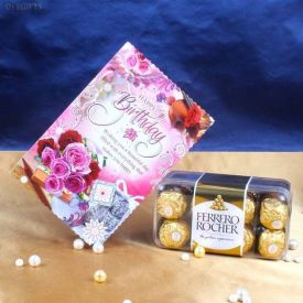 Ferrero Rocher N Card