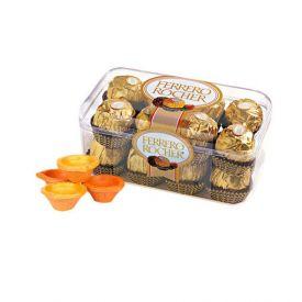 Ferrero Rocher With Diwali Crakers