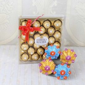 Bunch of 12 Mix Roses in Paper Packing, 500 gm Dry Fruits and 500 gm Kaju Katli with a Free card