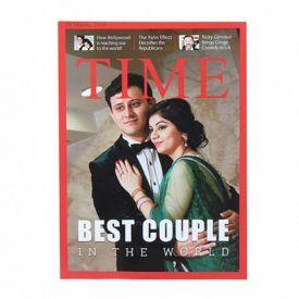 Personalized Magazine Cover