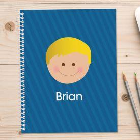 Blue Kids Notebook