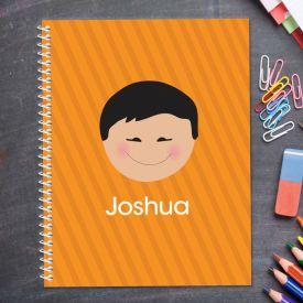 Orange Kids Notebook