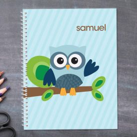 Owl Personalized Notebook