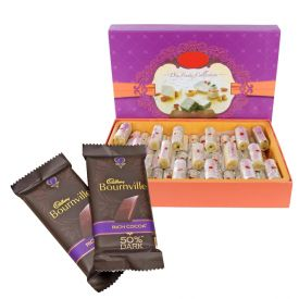 Kaju Roll with Bournville