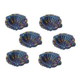 Decorative set of 6 Diyas