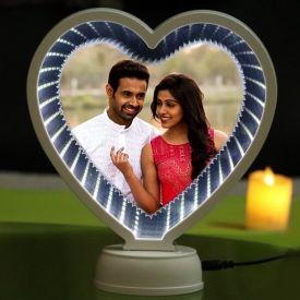 Heart Shape LED Magic Mirror