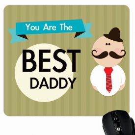 World's best daddy mouse pad