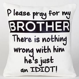 Idiot Brother Cushion