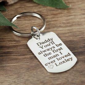 Silver Key Chain