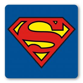 Superman logo kids mouse pad